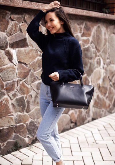 Женская сумка «Midi» BlankNote (темно-синий)