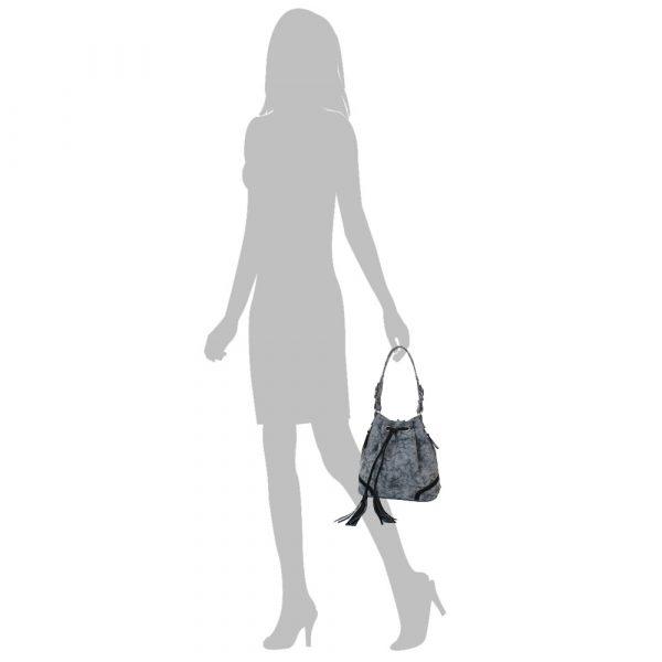Женская сумка из качественного кожзама Laskara