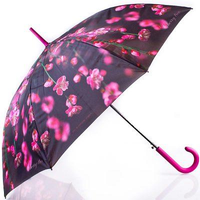 Зонт-трость женский полуавтомат ZEST (ЗЕСТ)