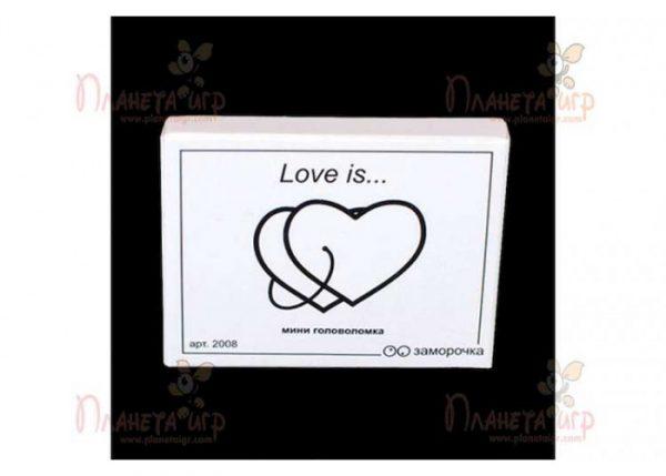 Головоломка Love is