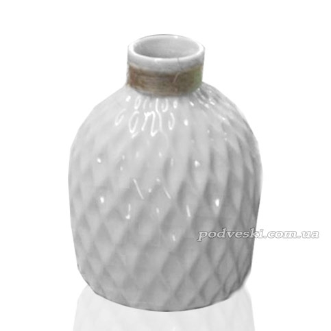 Керамическая ваза Eterna из коллекции «Алхимия» (белая)