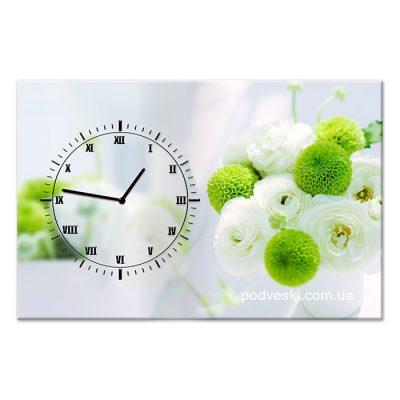Настенные часы на холсте Spring Clock