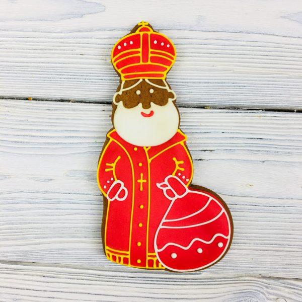 Пряник ручной работы - «Святой Николай»