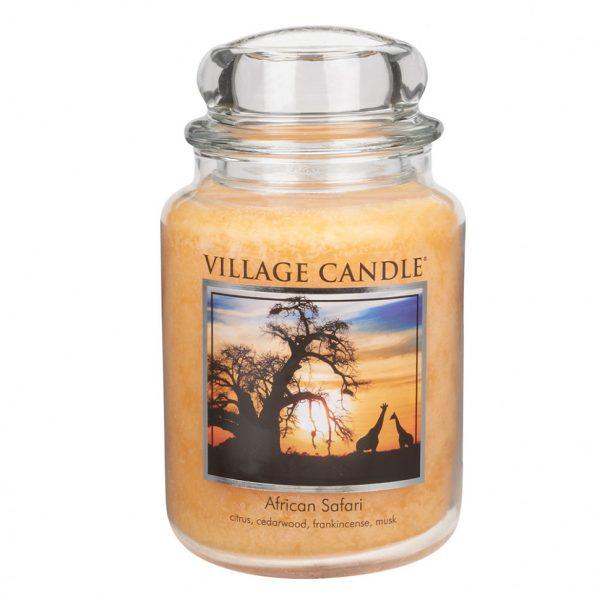 Свеча ароматическая Village Candle «Африканское сафари»