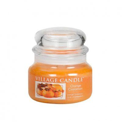 Свеча ароматическая Village Candle «Апельсин и корица»