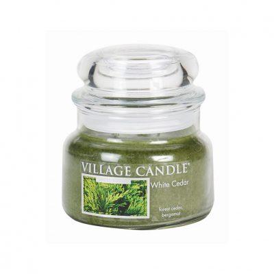 Свеча ароматическая Village Candle «Белый кедр»