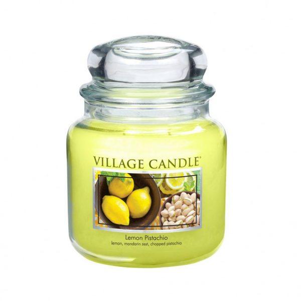 Свеча ароматическая Village Candle «Лимон и фисташки»