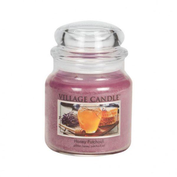 Свеча ароматическая Village Candle «Медовый пачули» (S)