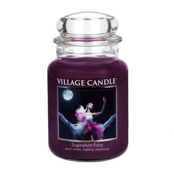 Свеча ароматическая Village Candle «Сахарная слива»