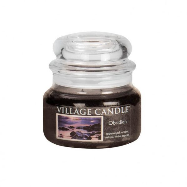 Свеча ароматическая Village Candle «Вулканическое стекло»