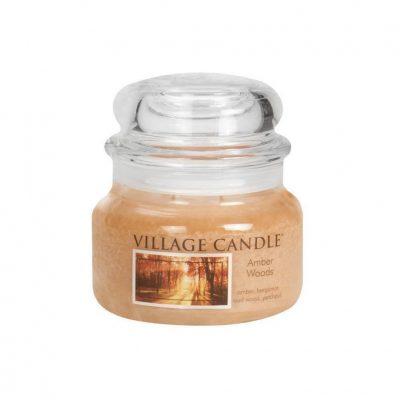 Свеча ароматическая Village Candle «Янтарные деревья»