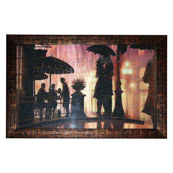 Вышивка-картина бисером «Романтичный вечер»
