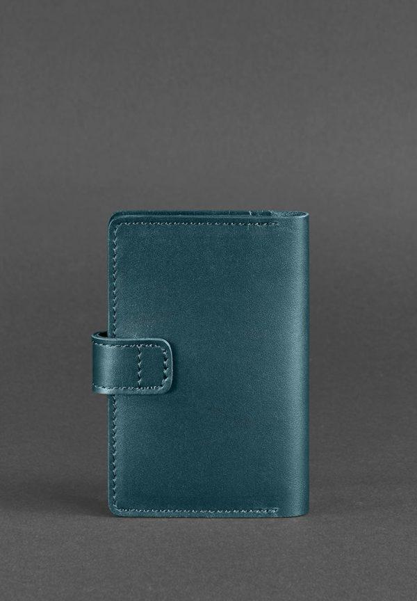 Кожаная обложка для паспорта «3.0 Малахит» BlankNote