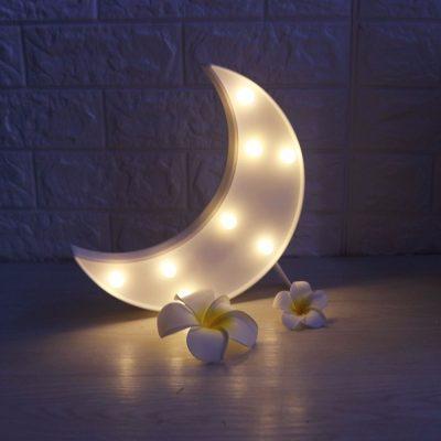 Декоративный LED светильник-ночник «Месяц» Funny Lamp Moon