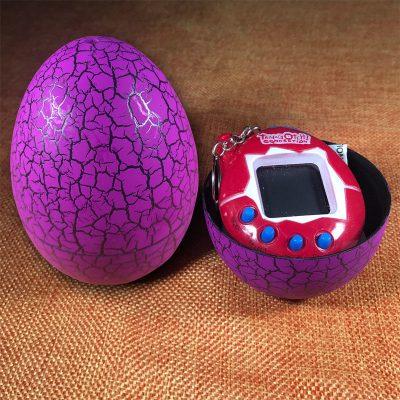 Игрушка-электронный питомец «Тамагочи» в яйце динозавра