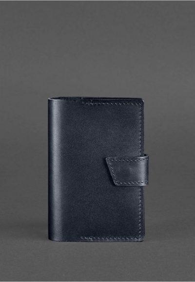 Обложка для паспорта «4.0 Темно-синий» BlankNote