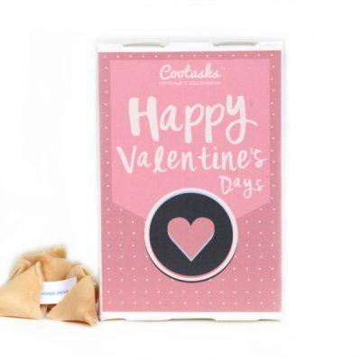 Печенье с заданиями «С Днем святого Валентина»