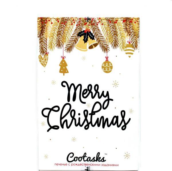 Печенье с заданиями «Веселого Рождества!»