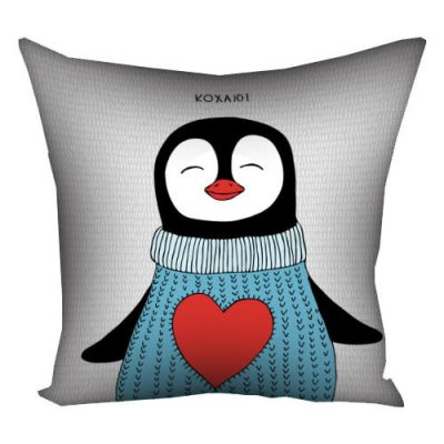 Декоративная подушка «Пингвин»