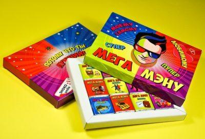 Шоколадный набор «Мега Мэну»