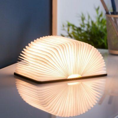 Светильник «Smart Book» мини, дерево орех