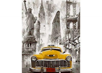 Раскраска по номерам «Большие города»