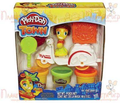 Набор для лепки Play-Doh Город«Транспортные средства»
