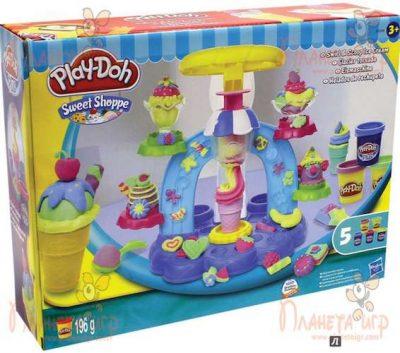 Набор для лепки Play-Doh «Фабрика мороженого»
