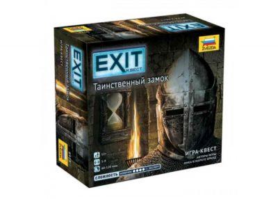 Настольная игра «Exit: Квест. Таинственный замок» (Exit: The Game – The Forbidden Castle)