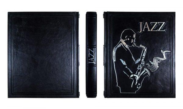 Подарочная книга в коже «Джаз» Герман Леонард