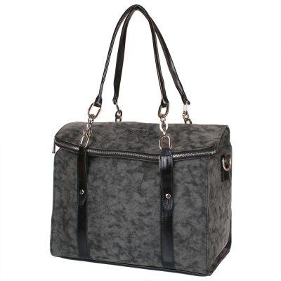 Женская повседневно-дорожная сумка из качественного кожезаменителя LASKARA (ЛАСКАРА)