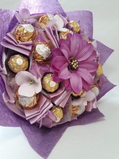 Букет из конфет «Фиолет» Okl