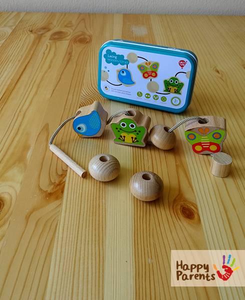 Деревянная шнуровка для малышей