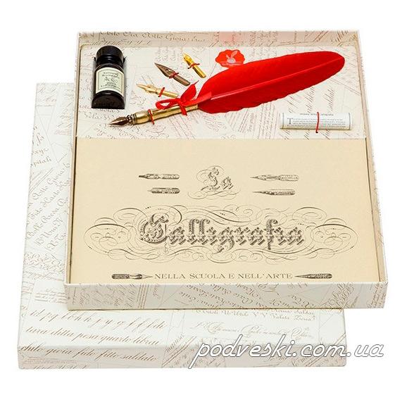 Набор для каллиграфии La Kaligrafica (7307) красное перо