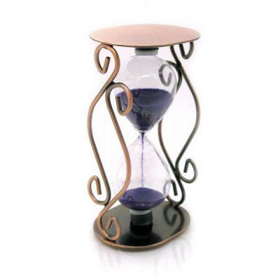 Песочные часы металлические