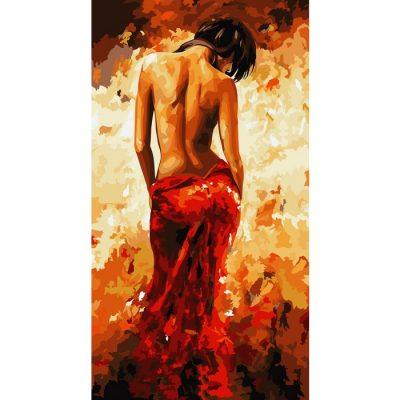 Картина по номерам «Страсть»