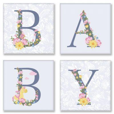 Картина по номерам «BABY» прованс