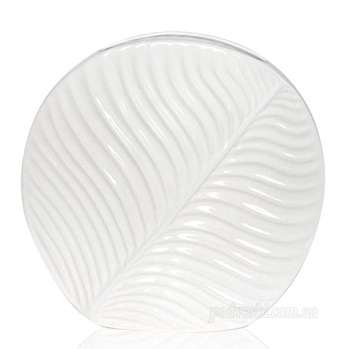 Ваза керамическая «Флора» (2906-23 white)