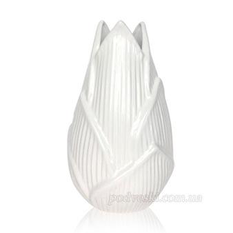 Ваза керамическая «Флора» (3001-25 white)