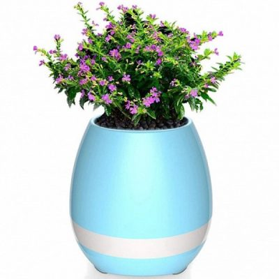 Умный цветочный горшок Smart Music Flowerpot с музыкой