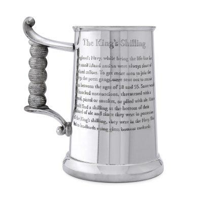 Пивная кружка English Pewter «Королевский шиллинг»