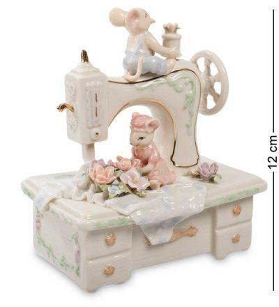 Музыкальная статуэтка «Швейная машина» Pavone