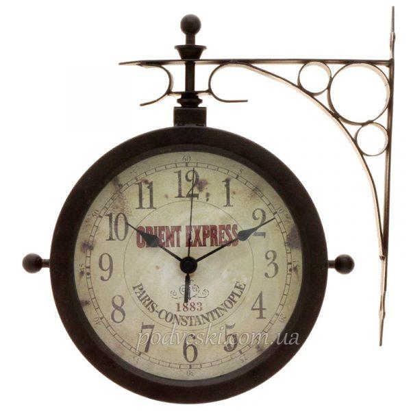 Настенные часы с термометром TFA «Nostalgia»