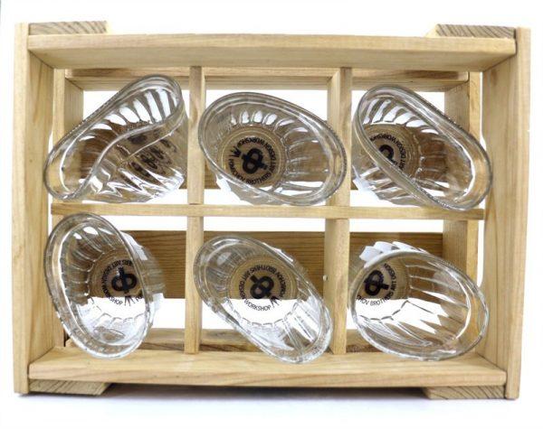 «Мужской» набор пьяных стаканов (ящик) Nisha Decor