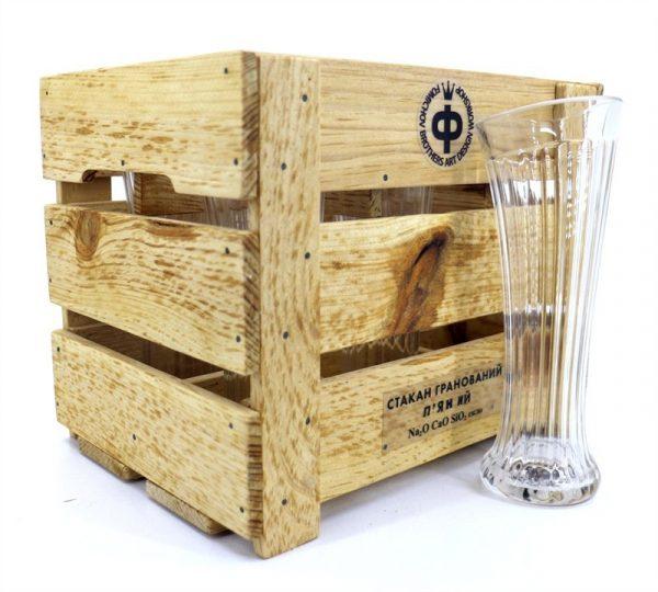 Набор пьяных стаканов «Дамский» Nisha Decor