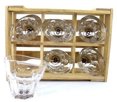 Набор пьяных стаканов-рокс «Виски со льдом» Nisha Decor
