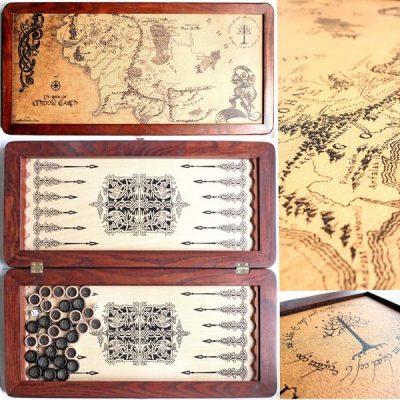 Нарды средние «Легенда Толкиен Карта»