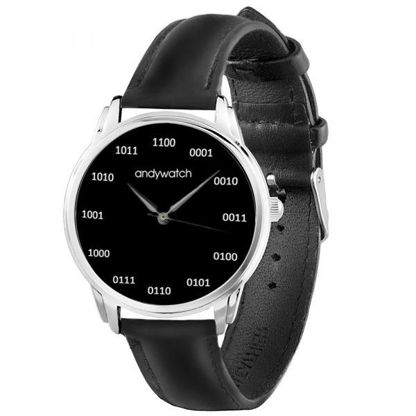 Оригинальные наручные часы «Бинарный код»