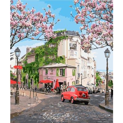 Картина для рисования по номерам «Французское путешествие» Идейка