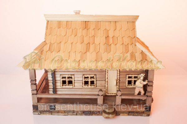 Шкатулка - домик карпатский